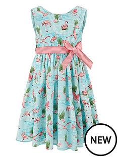 monsoon-fionula-flamingo-dress