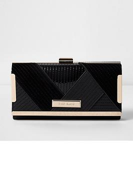 river-island-quilted-clip-top-purse