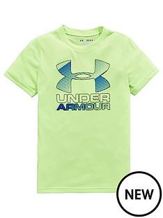 under-armour-under-armour-older-boys-hybrid-big-logo-tee