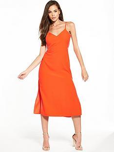 miss-selfridge-strappy-side-split-dress