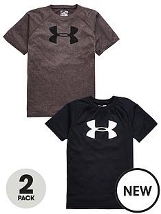under-armour-under-armour-boys-tech-logo-tees-2-pack