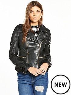 v-by-very-gold-button-leather-biker-jacket