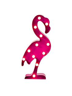 talking-tables-pink-flamingo-battery-operated-metal-light