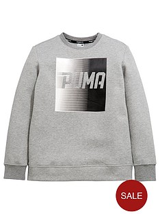 puma-older-boys-evo-crew-sweat