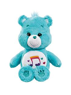 care-bears-medium-plush-with-dvd-heartsong-bear