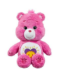 care-bears-medium-plush-with-dvd-shine-bright-bear