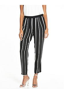 wallis-variated-stripe-trouser-mono