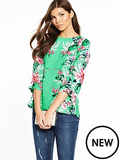wallis-green-mirror-print-top
