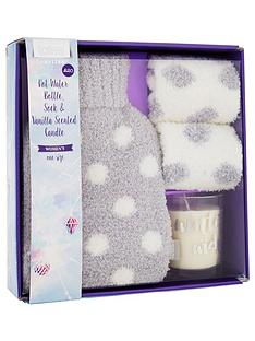 totes-totes-supersoft-sparkle-mini-hot-water-bottle-sock-and-candle