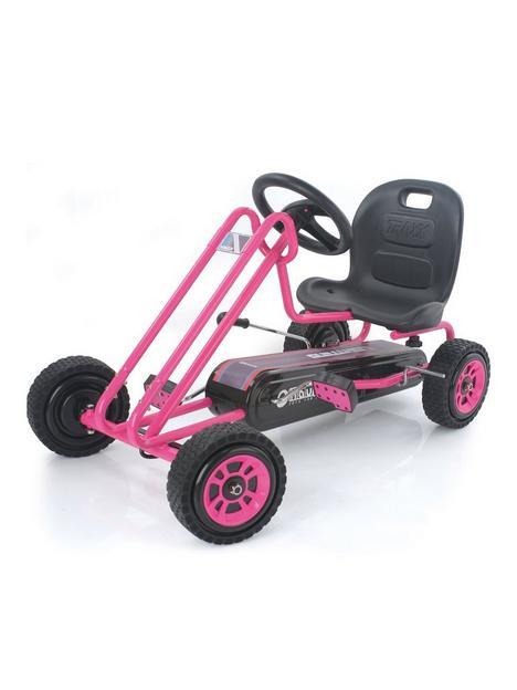 hauck-lightening-go-kart-pink