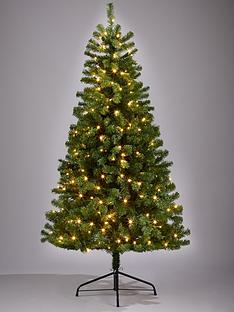 6ft-calgary-pre-lit-christmas-tree-with-multi-function-lights