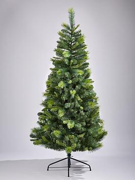 Product photograph showing 6ft Cannock Great Value Christmas Tree