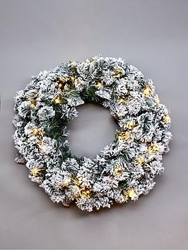 pre-lit-flocked-emperor-wreath