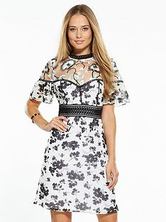v-by-very-embroidered-yoke-lace-skater-dress