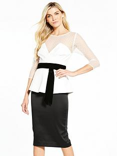 v-by-very-peplum-mono-dress