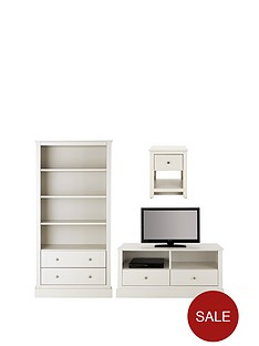 consort-dover-ready-assembled-3-piece-living-room-set-storage-bookcase-tv-unit-and-lamp-table-white-buy-and-save