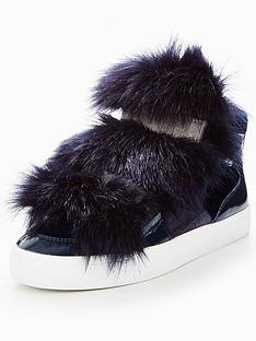 carvela-lovely-np-faux-fur-plimsoll