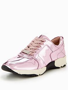 carvela-lacrosse-np-metallic-trainer-pink