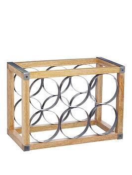 Kitchen Craft Industrial Kitchen Wine Rack