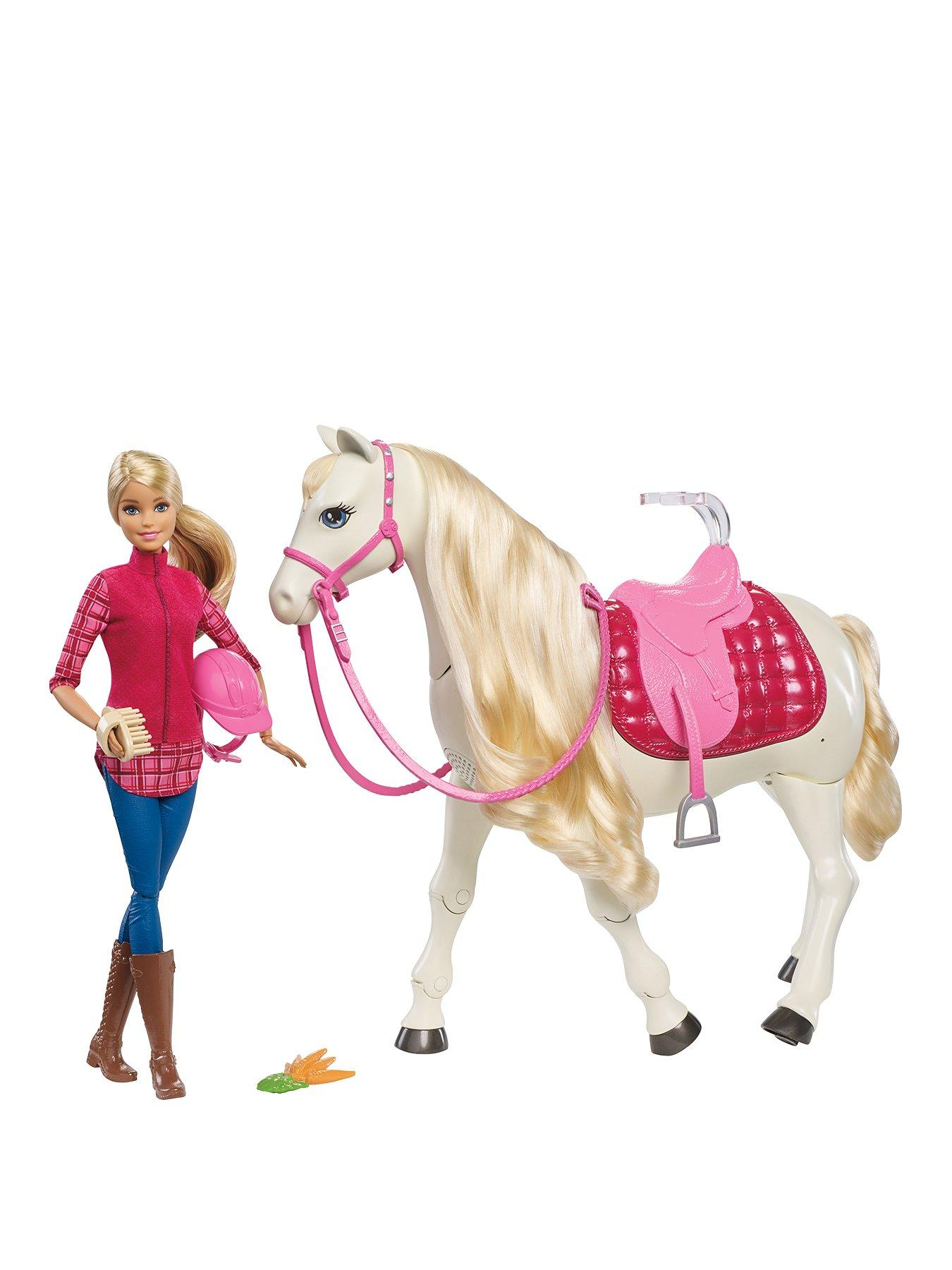 Compare prices for Barbie Doll With Her Dreamhorse