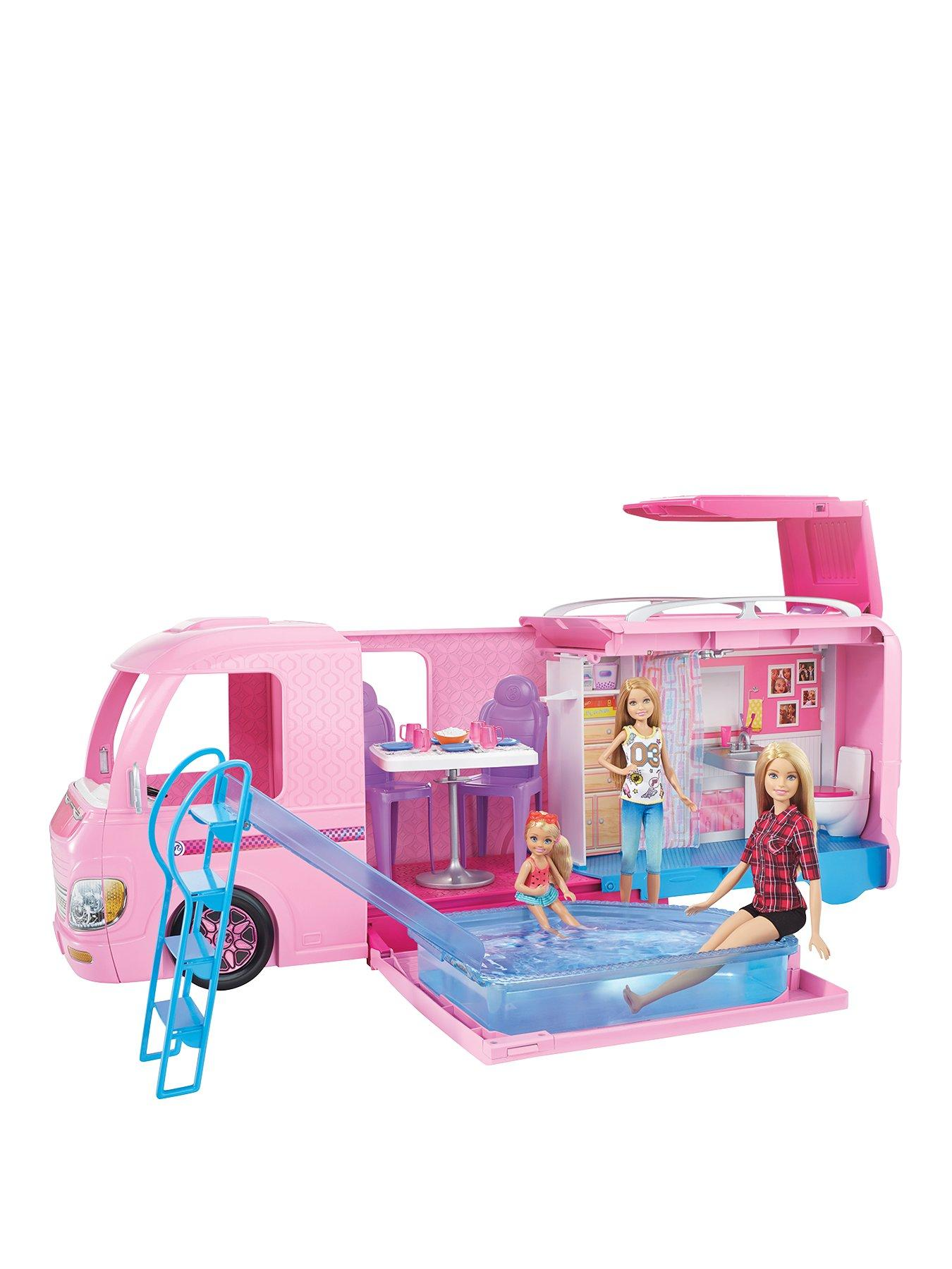 Compare prices for Barbie Dreamcamper and Playset With Pool