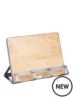 kitchen-craft-industrial-kitchen-cookbook-tablet-stand-sleeved