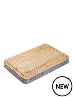 kitchen-craft-industrial-kitchen-rectangular-mango-wood-butchers-block-48x32x5cm