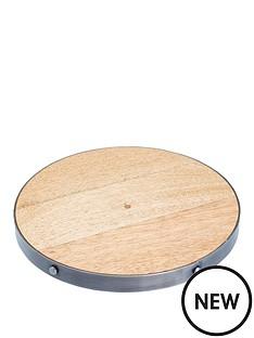kitchen-craft-industrial-kitchen-wooden-trivet-20cm