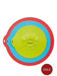 kitchen-craft-colourworks-multi-functional-lids--nbspset-of-3nbsp
