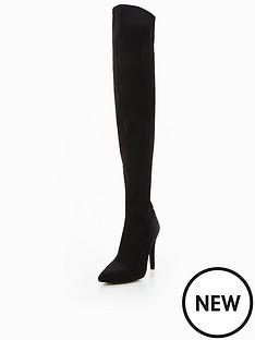 v-by-very-belle-satin-over-the-knee-boot--nbspblack