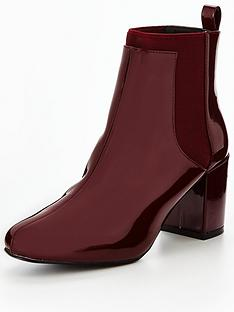 v-by-very-olivia-block-heel-patent-chelsea-boot-red