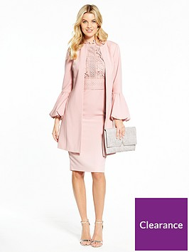 v-by-very-fluted-sleeve-jacket-and-lace-top-dress-suit