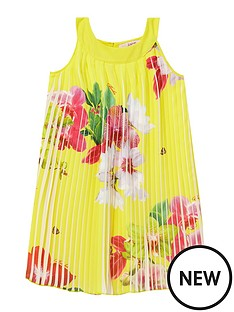 baker-by-ted-baker-girsl-orchid-print-pleated-dress