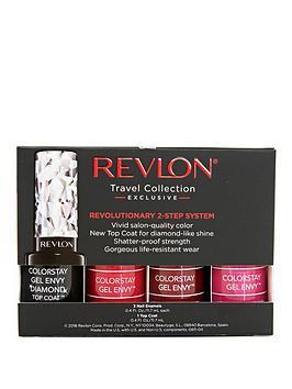 Revlon Revlon Colourstay Nail Polish Gel Envy Set