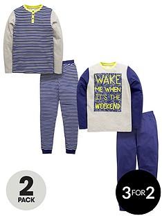 v-by-very-2pk-stripe-jersey-pyjamas