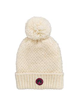 superdry-clarrie-pom-pom-hat-cream