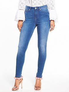 v-by-very-ella-high-waist-tasselnbsptrim-skinny-jean