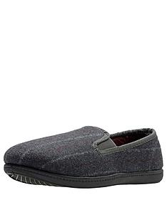 clarks-king-twin-slipper-grey