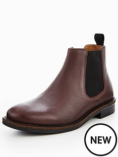 kg-perth-embossed-leather-chelsea-boot