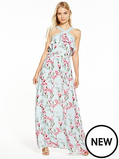 oasis-magnolia-chiffon-maxi-dress