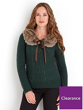 joe-browns-fabulous-faux-fur-collar-sweater