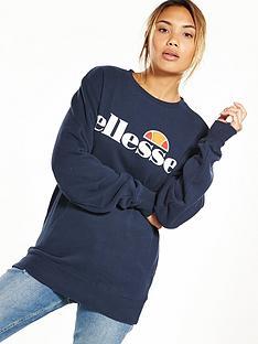 ellesse-heritage-agata-sweatshirt-navynbspnbsp