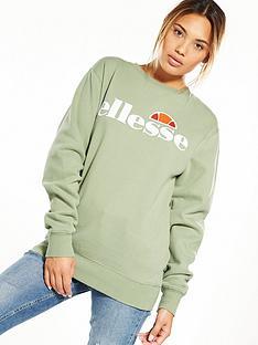 ellesse-heritage-agata-sweatshirt-olive