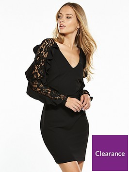 v-by-very-lace-insert-frill-dress