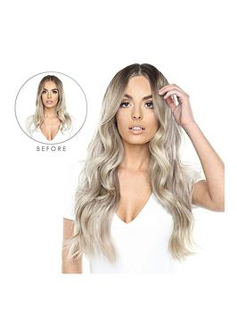 Beauty Works Beauty Works Double Hair Set Clip-In Extensions - New Root  ... Picture