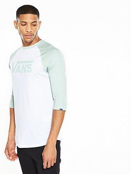 Vans Classic Logo Raglan Long Sleeve TShirt
