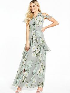 v-by-very-frill-printed-maxi-dress