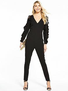 v-by-very-lace-insert-frill-jumpsuit