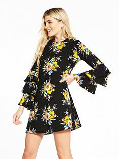 v-by-very-frill-sleeve-tunic-dress