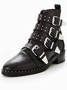 office-academic-multi-strap-ankle-boot